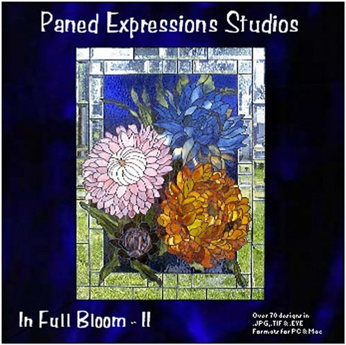 9780977369751: Stained Glass Pattern Collection - In Full Bloom II