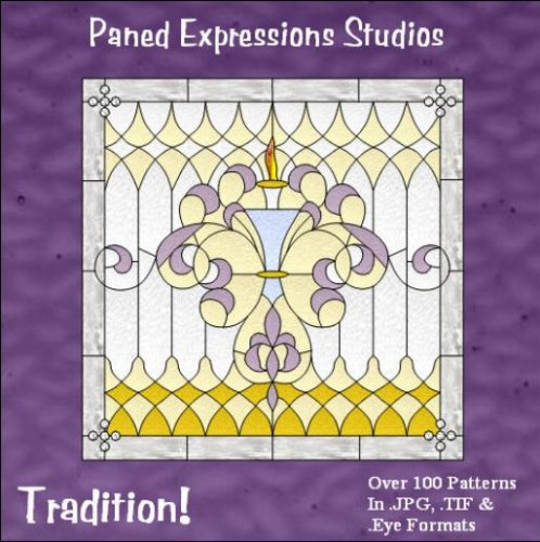 9780977369799: Tradition! Stained Glass Pattern Collection
