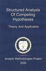 Structured Analysis of Competing Hypotheses Theory and Application: Chido