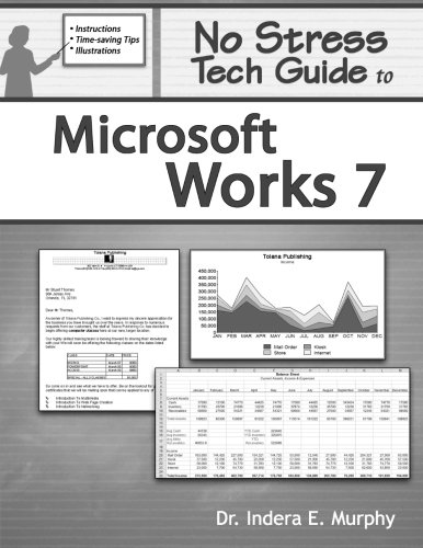 9780977391226: No Stress Tech Guide To Microsoft Works 7