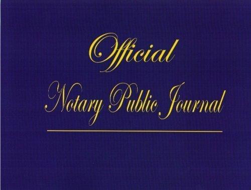 Official Notary Public Journal: Notarystudy.com
