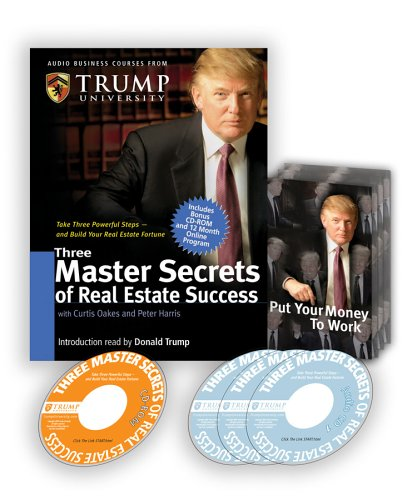 Three Master Secrets of Real Estate Success