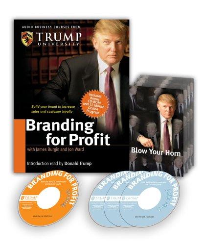 9780977421275: Branding for Profit (Audio Business Course)