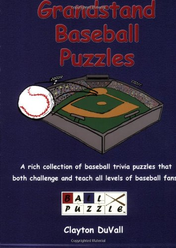 9780977436408: Grandstand Baseball Puzzles