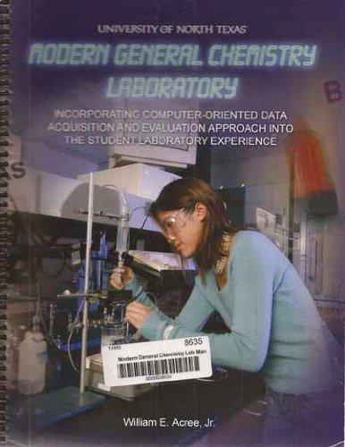 9780977465804: Modern General Chemistry Laboratory
