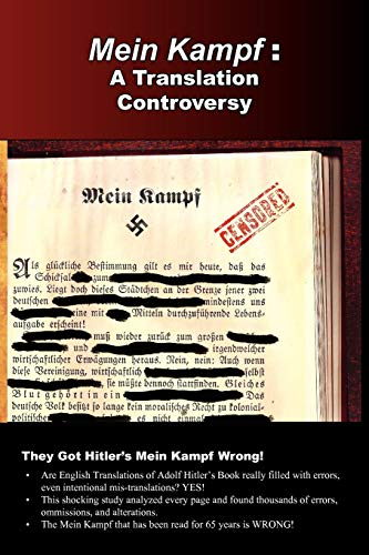 Mein Kampf: A Translation Controversy (9780977476084) by Michael Ford