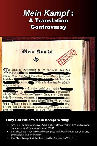 9780977476084: Mein Kampf: A Translation Controversy