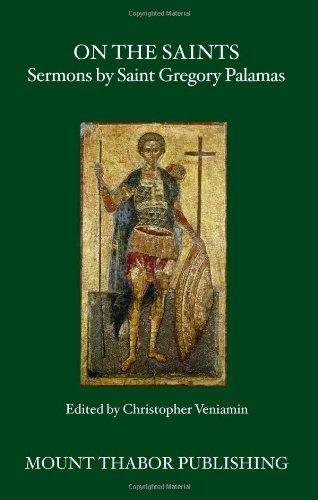 9780977498369: On the Saints: Sermons by Saint Gregory Palamas