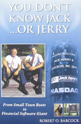 9780977601837: You Don't Know Jack... or Jerry