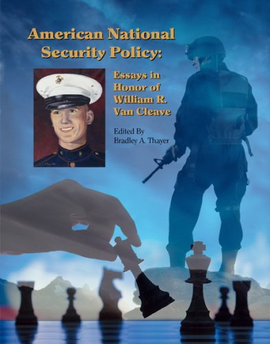 9780977622115: American National Security Policy: Essays in Honor of William R. Van Cleave