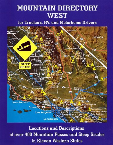 9780977629015: Mountain Directory West for Truckers, RV, and Motorhome Drivers