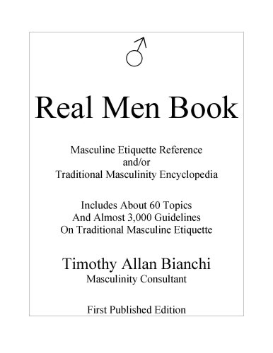 9780977630905: Real Men Book - First Published Edition