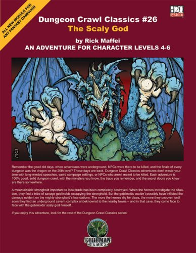 9780977641871: The Scaly God (Dungeon Crawl Classics)