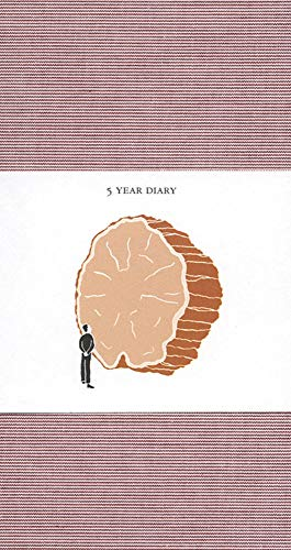 9780977648184: 5 Year Diary: Red Cover