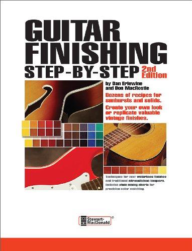 Guitar Finishing Step-by-Step: Erlewine, Dan; MacRostie,