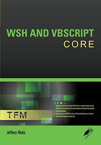 9780977659746: Wsh and VBScript Core: Tfm