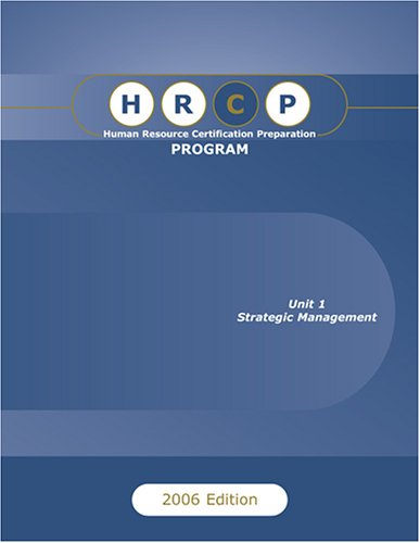 9780977664009: Human Resource Certification Preparation Program