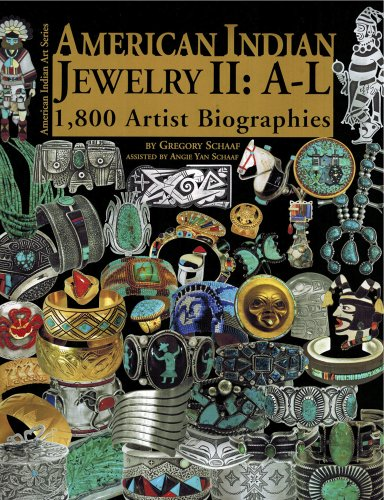 9780977665228: American Indian Jewelry II: A-L: 1,800 Artist Biographies