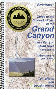 9780977674985: Guide to the Colorado River in the Grand Canyon: From Lees Ferry to South Cove