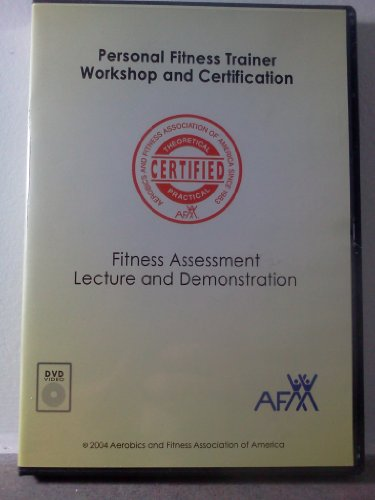 9780977710270: Personal Fitness Trainer: Fitness Assessment (Lecture and Demonstration) [AFAA Multitraining Fitness DVD Series]