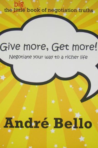 Give More, Get More: Andre Bello