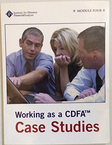 9780977740444: Working as a CDFA Case Studies