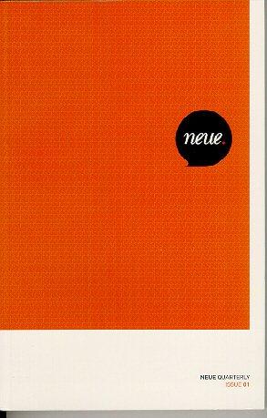 9780977748013: Neue Quarterly Issue 01
