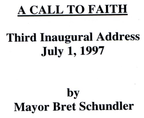 9780977760077: A Call to Faith