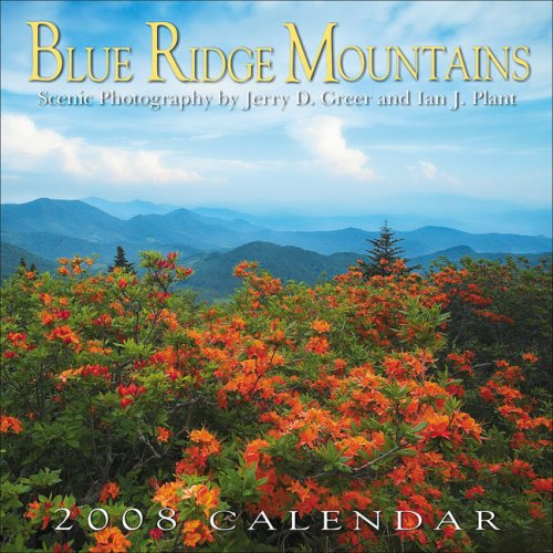 9780977793310: Blue Ridge Mountains 2008 Scenic Wall Calendar