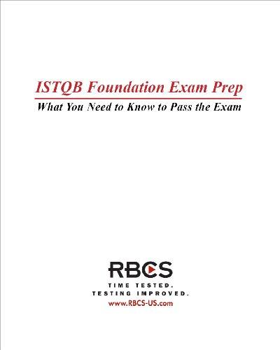 9780977818716: ISTQB Foundation Exam Preparation Guide
