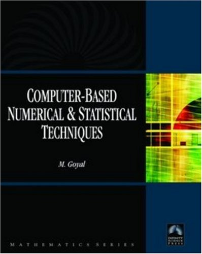 9780977858255: Computer-Based Numerical And Statistical Techniques (Mathematics)