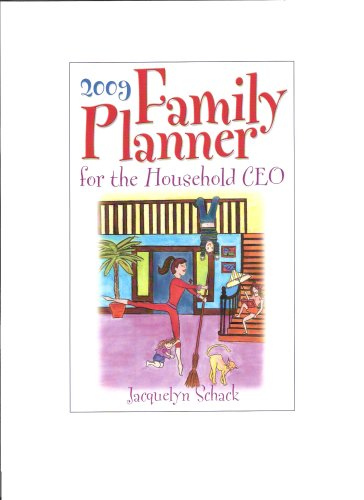 9780977864225: Family Planner for the Household CEO 2009