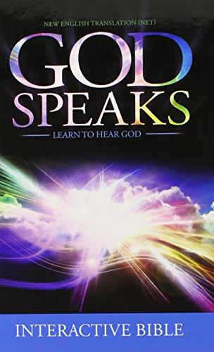 God Speaks Study Bible Hard Cover NET: Richard Mull