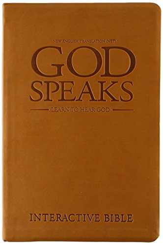 9780977866656: God Speaks Study Bible Brown Imitation Leather NET