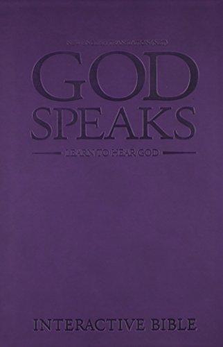 God Speaks Study Bible Purple Imitation Leather NET: Richard Mull