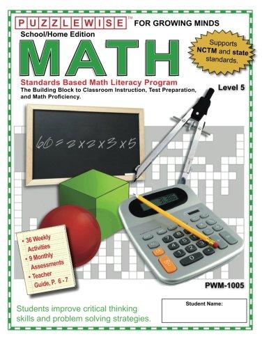 9780977913442: Puzzlewise Math- Level 5 (PuzzleWiseMath)