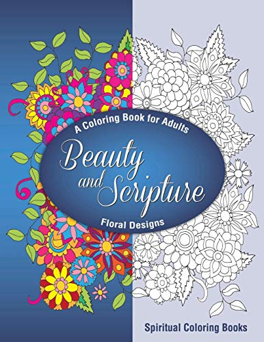 9780977914913: Beauty and Scripture: A Coloring Book for Adults