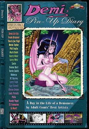9780977948246: Demi's Pin-up Diary (Demi the Demoness)