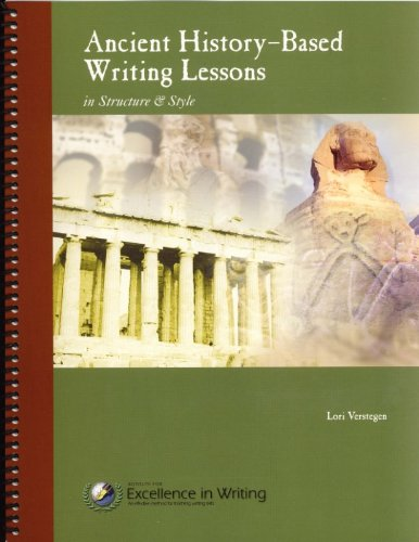 Ancient History-based Writing Lessons: Lori Verstegen