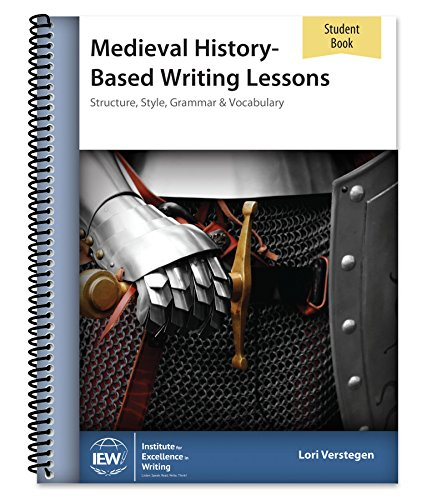 9780977986057: Medieval History-Based Writing Lessons (Student Book only)