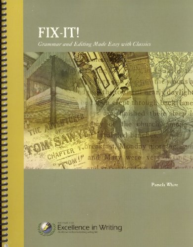 Fix-It! : Grammar and Editing Made Easy: Pamela White