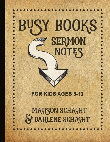 9780978026288: Busy Books: Sermon Notes for Kids