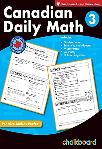 9780978075668: Canadian Daily Math Grade 3