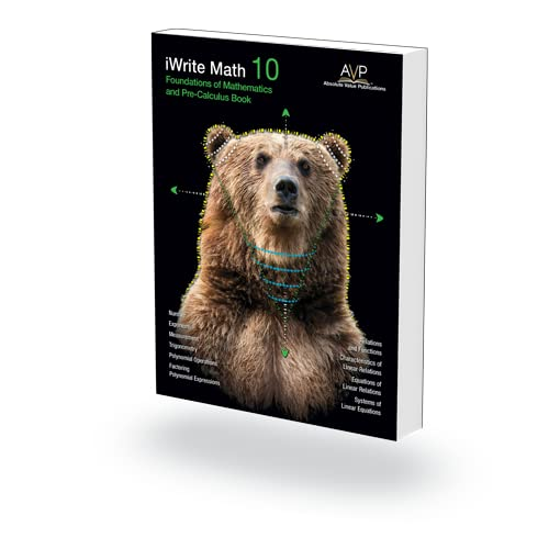 9780978087258: Foundations of Math and Precalculus 10 Workbook