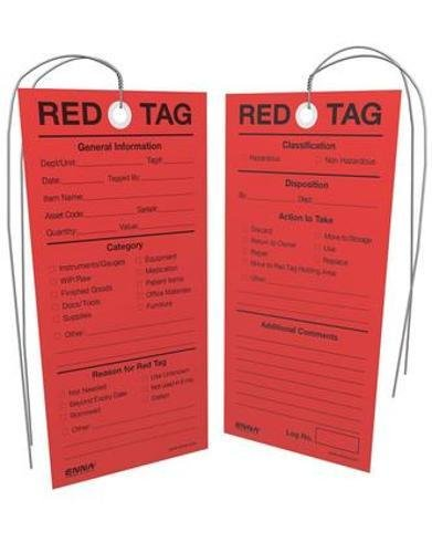 9780978097097: 5S Red Tags - Individually pre-wired