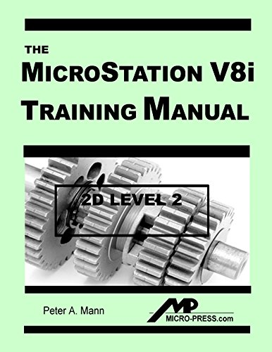 9780978131029: MicroStation V8i Training Manual 2D Level 2