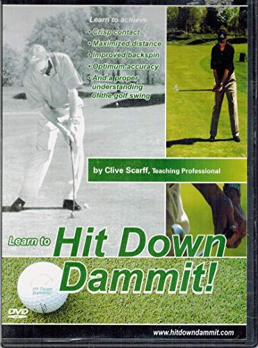 9780978194017: Hit Down Dammit! Golf Instruction CD-ROM