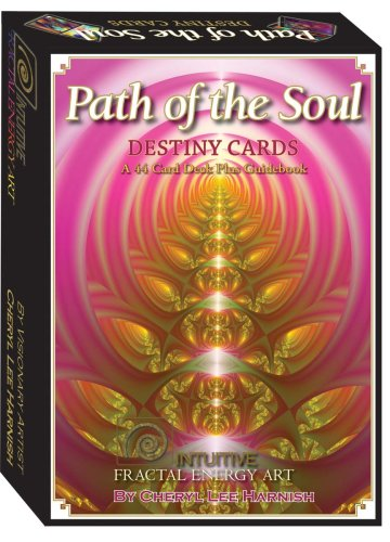 9780978304706: Path of the Soul Destiny Cards: Intuitive Fractal Enery Art