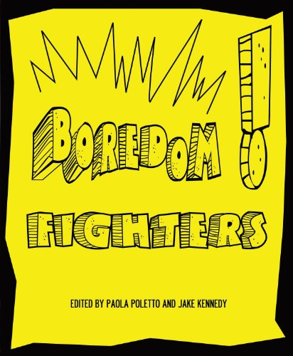 Boredom Fighters An Anthology of Graphic Poetry: Jake Kennedy