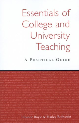 9780978354206: Essentials of College and University Teaching, Third Edition